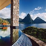 Room with a View: The Sun Suite, Jade Mountain