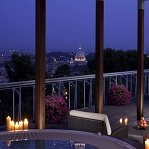 A Roman Room with a View at Rome Cavalieri