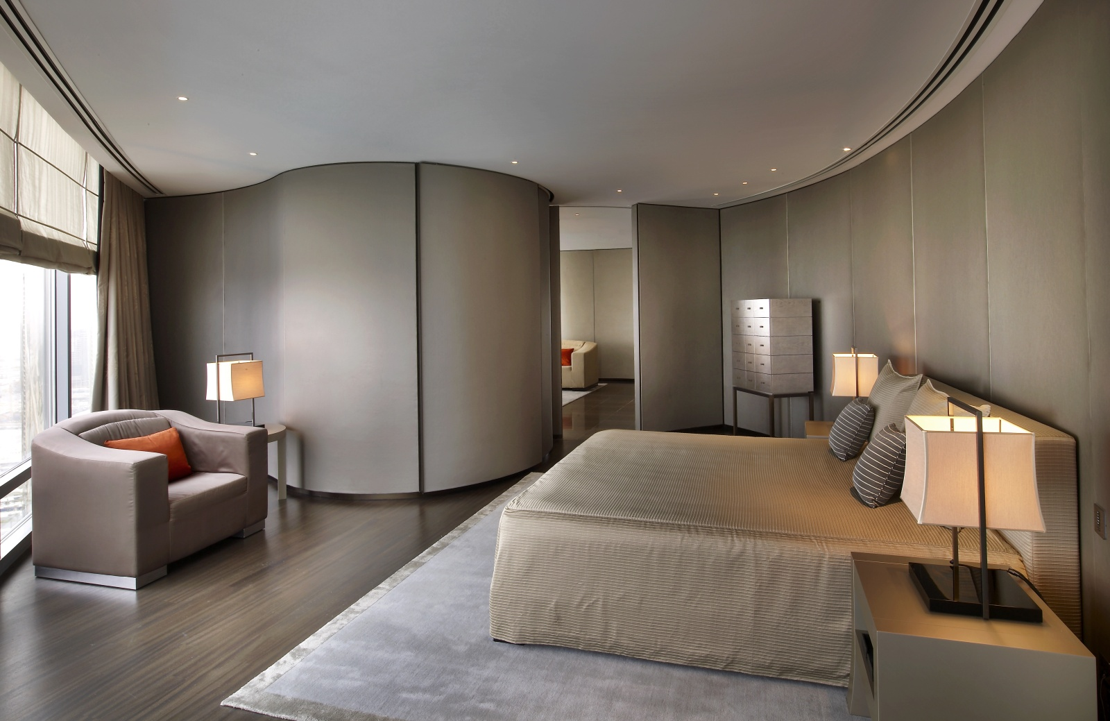 armani signature suite - room