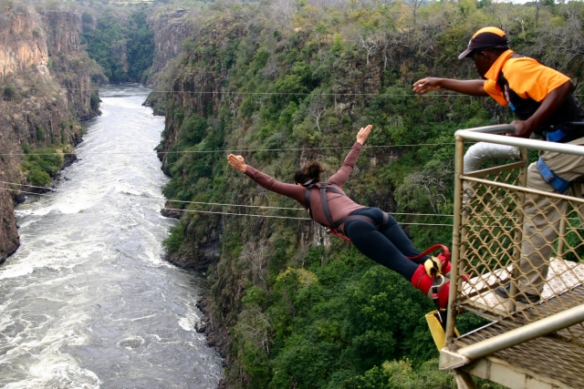 Travel Ten Top Ten Adrenaline Adventures Around The World