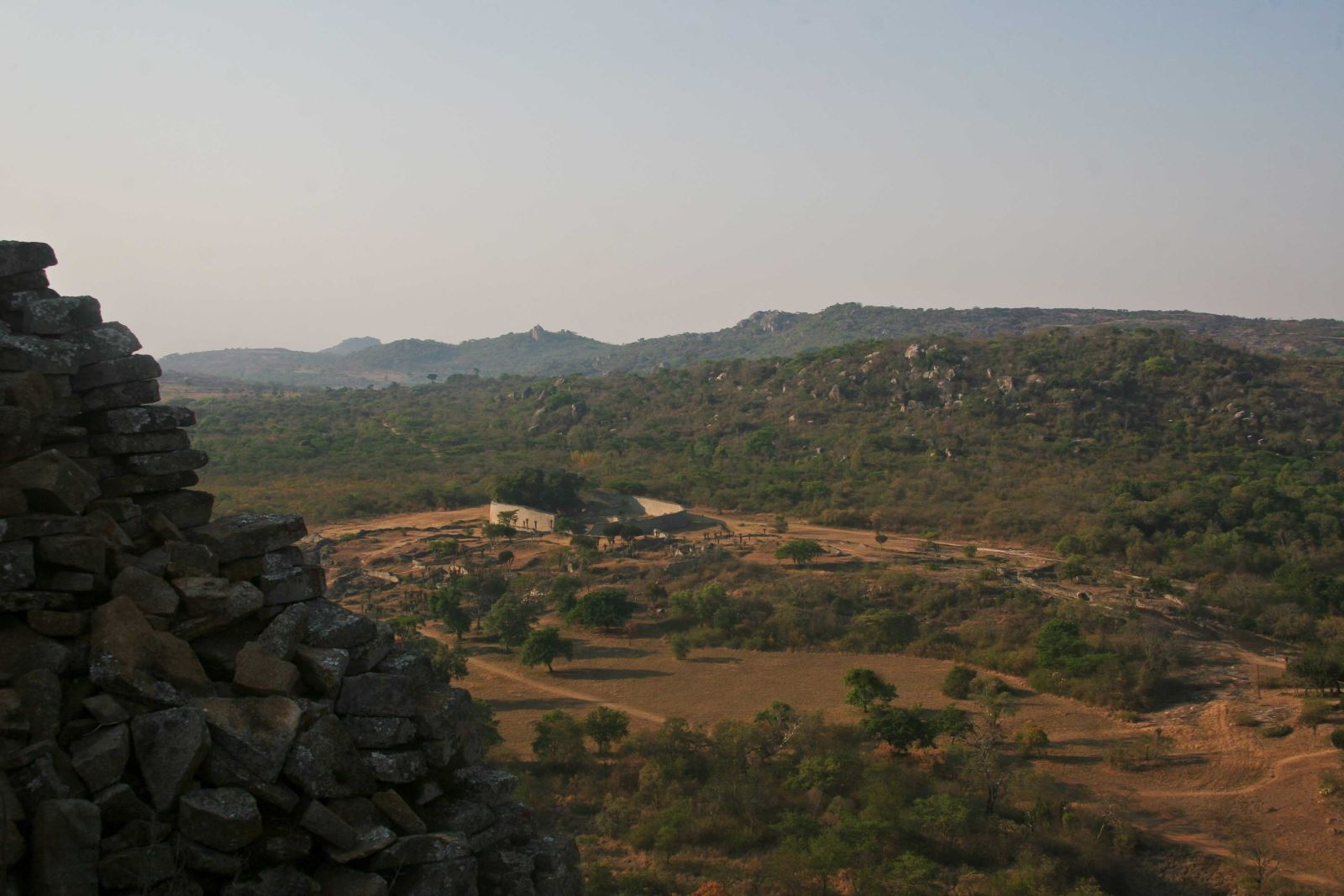 great zimbabwe view