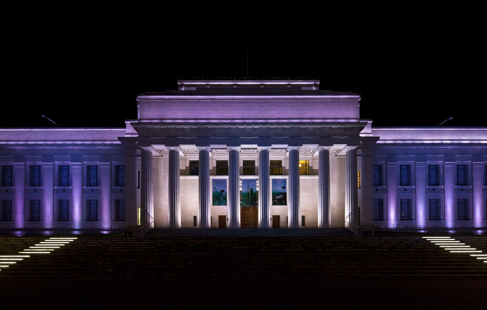 The Auckland museum
