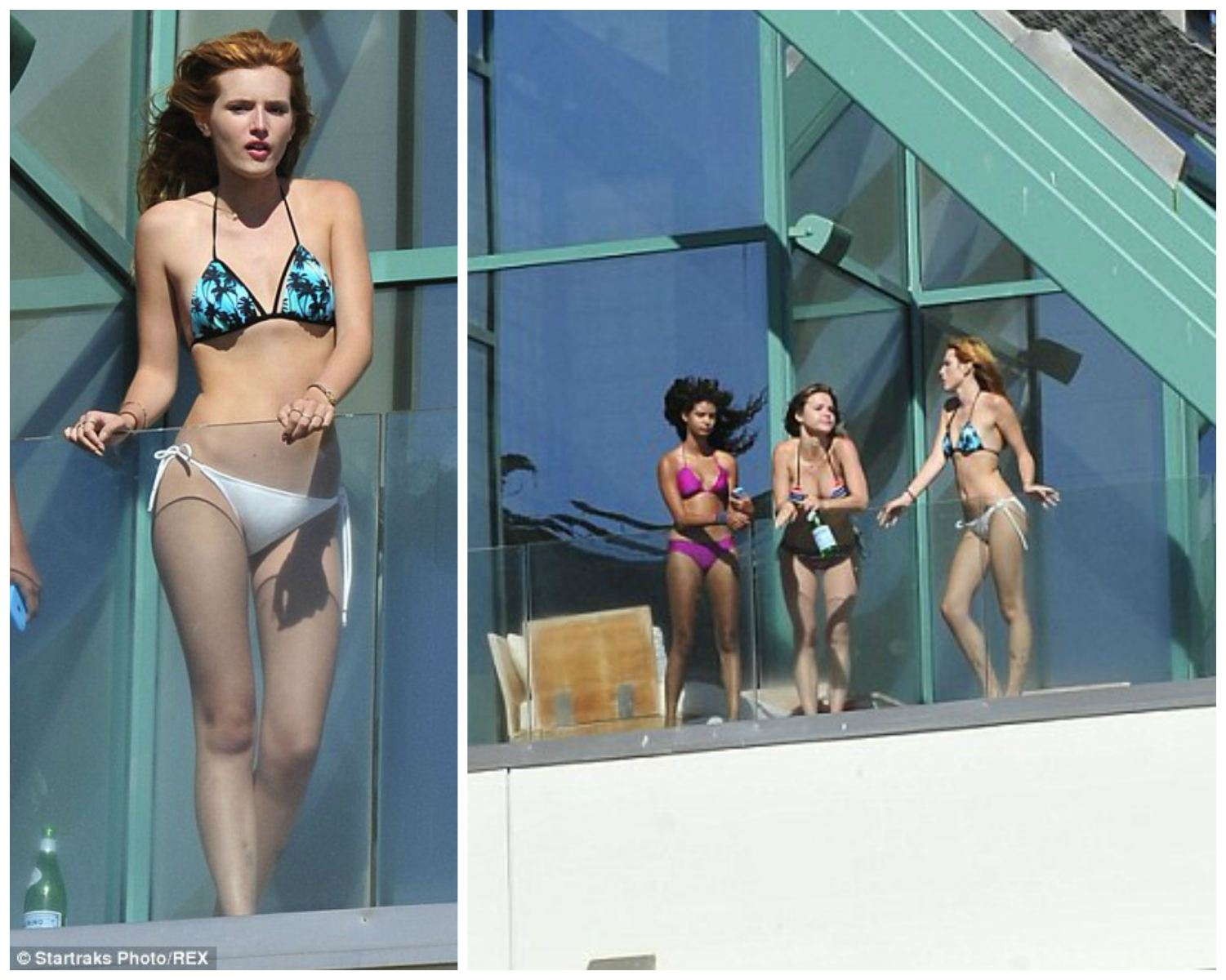 Bella Thorne and friends Malibu