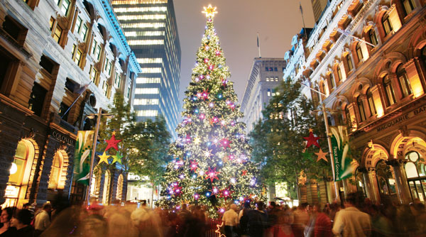 Travel Ten Top Ten Places To Spend Christmas - Location Of Christmas Trees