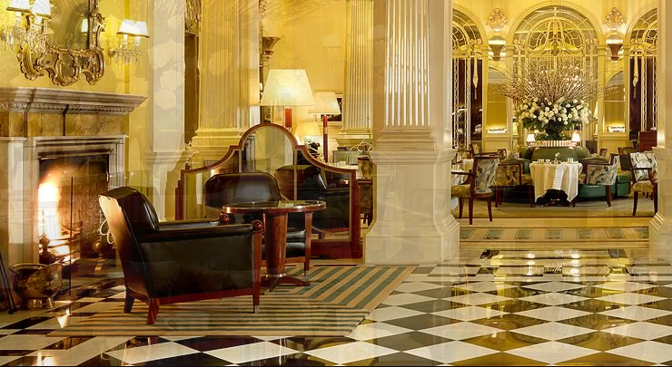 Foyer And Reading Room At Claridge S : Claridge s royal suite fit for queen joan