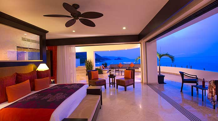 Garza Blanca Resort Oceanfront Suite