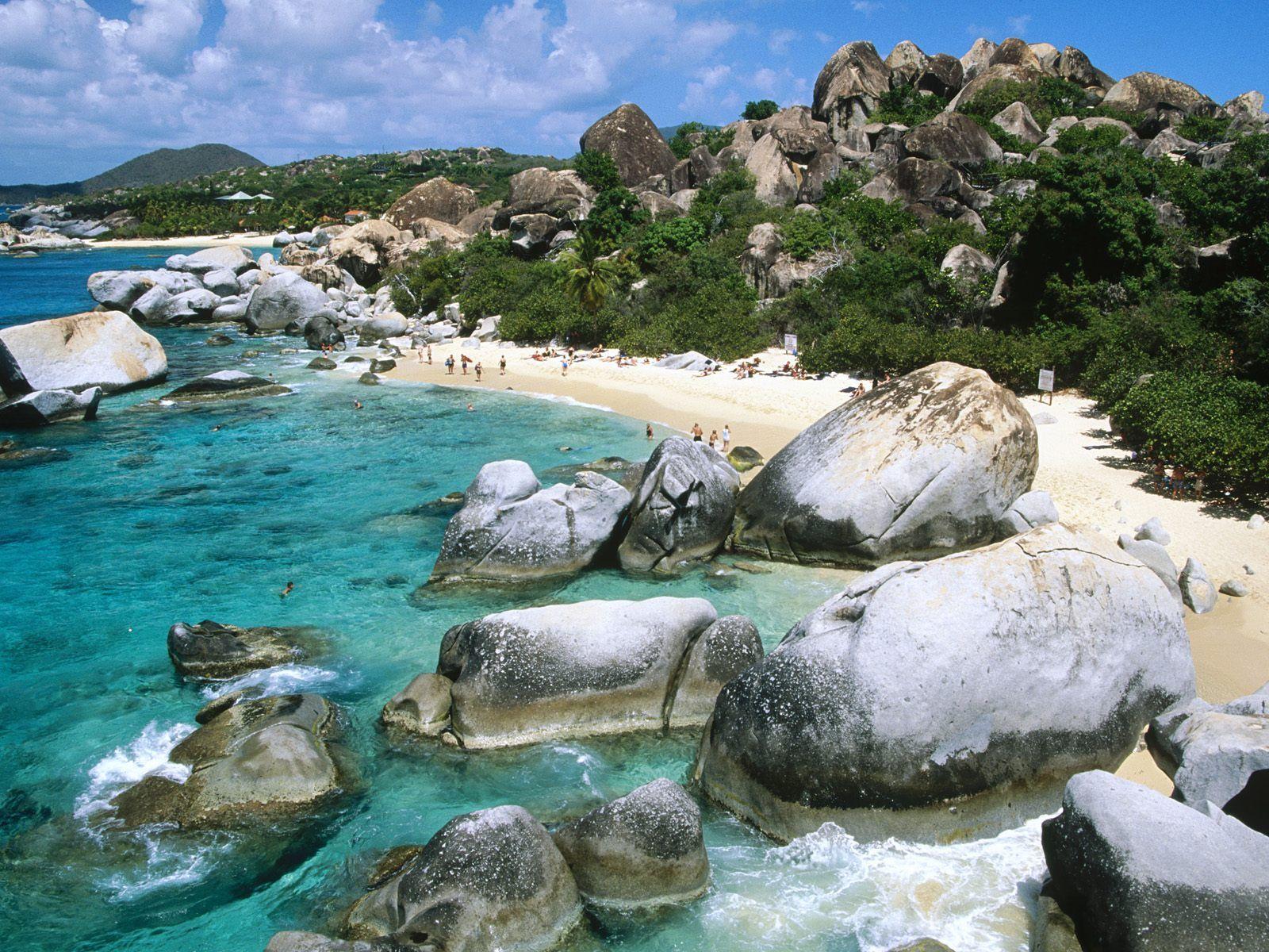 The Baths, Virgin Gorda, British Virgin Islands - Around