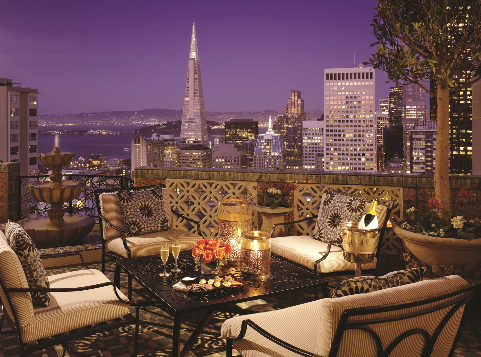 Penthouse Suite Fairmont Hotel San Francisco