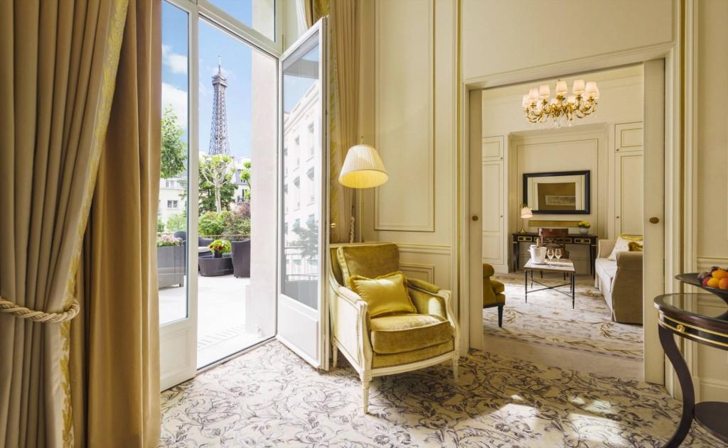 Room with a View Shangri La Hotel Paris Garden Wing