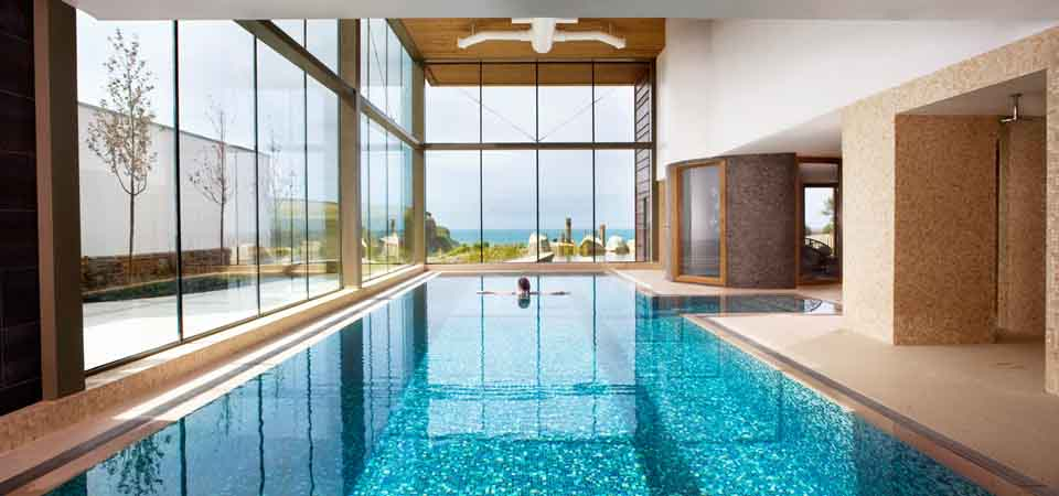 Best hotel spas in britain Barcelona hotel with indoor swimming pool