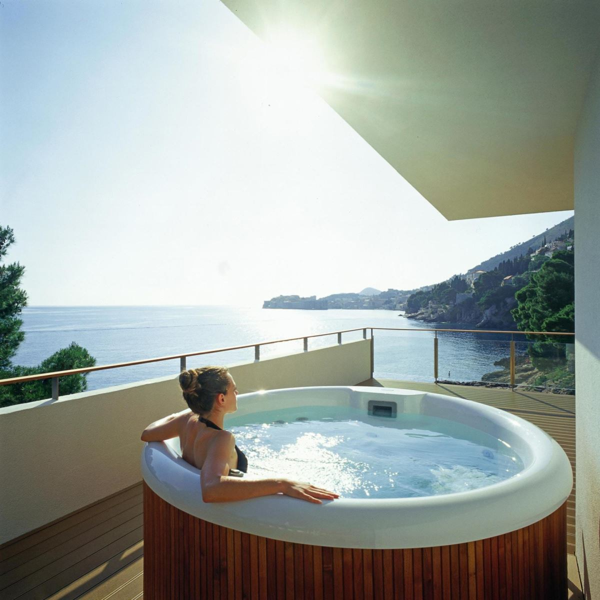 room with a view villa dubrovnik royal suite. Black Bedroom Furniture Sets. Home Design Ideas